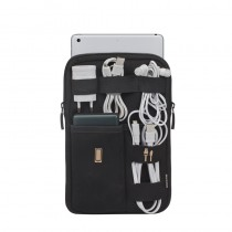 Husa tableta Rivacase 5612 Travel organizator accesorii , 7-8 inch, negru