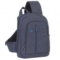 "Rucsac Laptop Rivacase sling 7529 13.3"" grey"