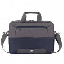"""Geanta laptop Rivacase 7757 steel blue/grey , 17.3"""""""