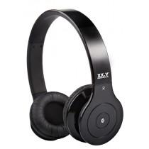 Casti audio cu banda XX.Y BH 530, Bluetooth, Black