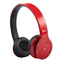 Casti audio cu banda XX.Y BH 530, Bluetooth, Red