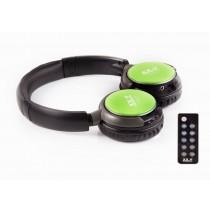 Casti audio cu MP3/FM XX.Y R-011 Dynamic 21, GREEN