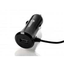 Goodis 5361690 Incarcator auto 5v/3,4a cu cablu lightning si port USB black
