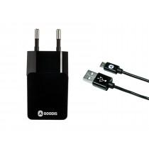 Goodis Incarcator priza cu cablu Micro-USB 1 m 5582220 Black