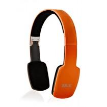Casti audio cu banda XX.Y R-15 BT, Bluetooth, Orange