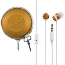 Casti audio cu microfon e5 Trance RE01900 Portocaliu