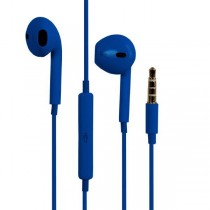 Casti audio cu microfon e5 AIR RE02251 Albastru