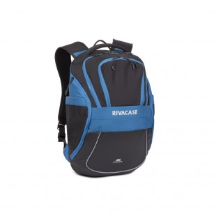 Rucsac laptop SPORT Rivacase 5265 black/blue 17,3'', 30L