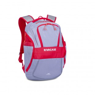 Rucsac laptop SPORT Rivacase 5265 grey/red  17,3'', 30L