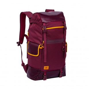 Rucsac laptop SPORT Rivacase 5361 burgundy red 17,3'', 30L