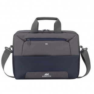 Geanta laptop Rivacase 7757 steel blue/grey , 17.3""
